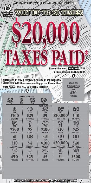$20,000 Taxes Paid*