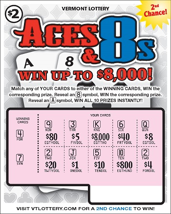 who are aces and 8s lottery ticket