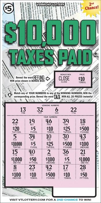 $10,000 TAXES PAID