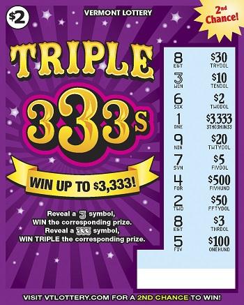 TRIPLE 333s