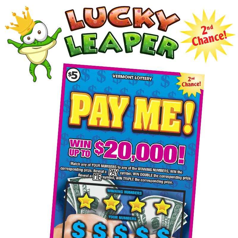 Lucky Leaper - The 2nd Chance game for Pay Me!