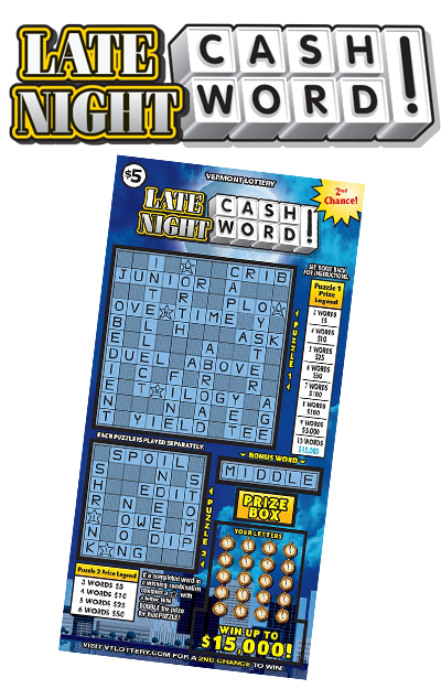 Late Night Cashword Instant game