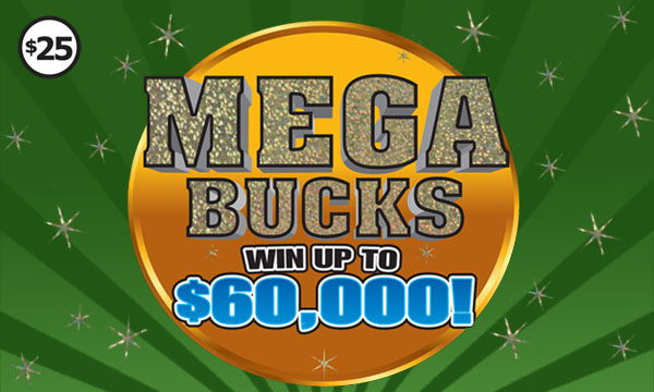Instant game - Megabucks - Win Up To $60,000!