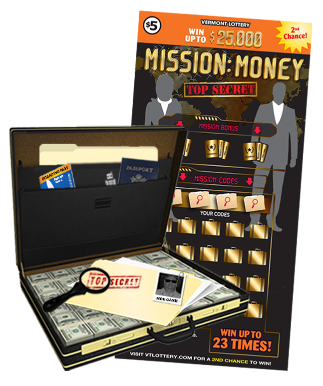 Mission: Money Instant Ticket