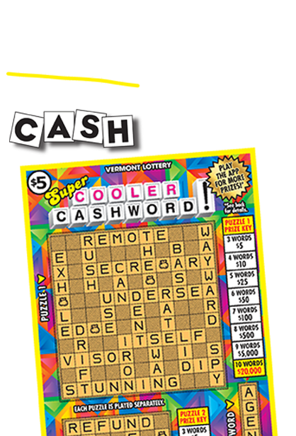 Super Cooler Cashword