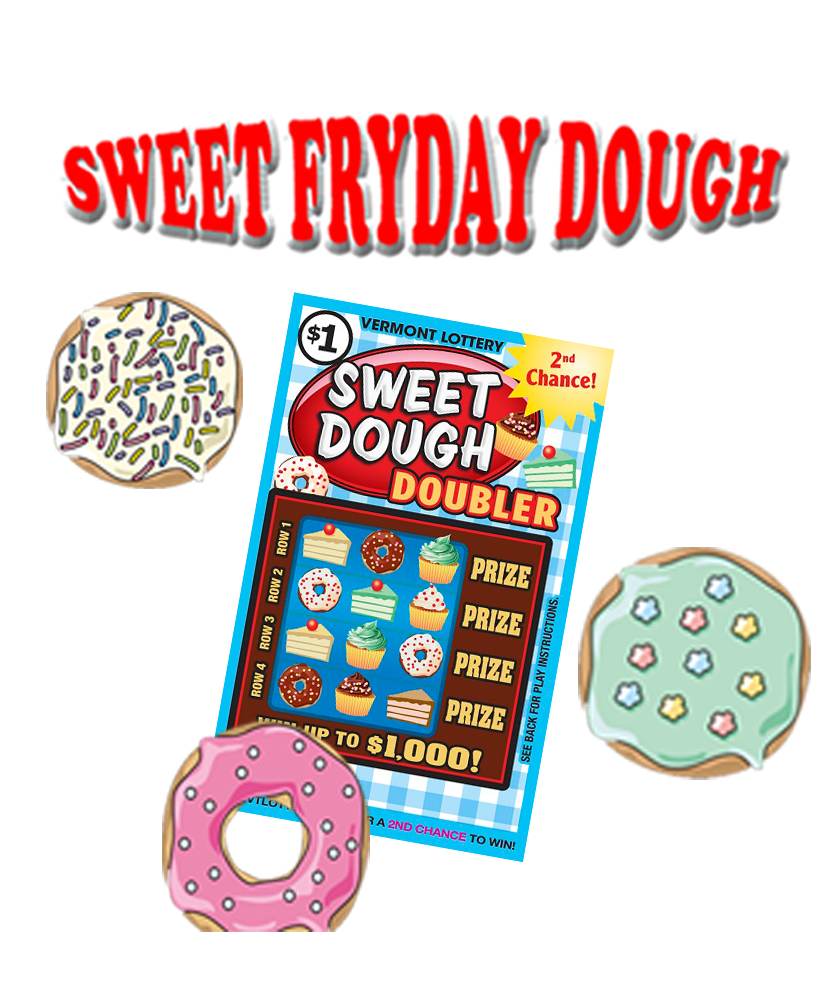 Sweet Fryday Dough promotion