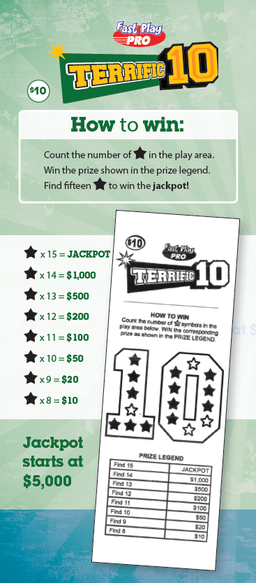 Terrific 10 how to win