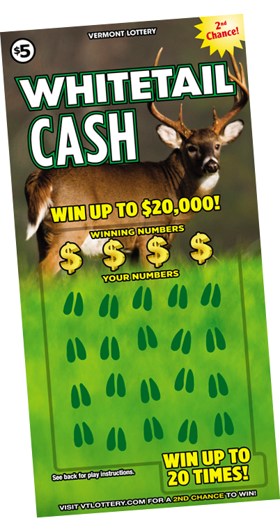 Whitetail Cash - Hunt yours down today!