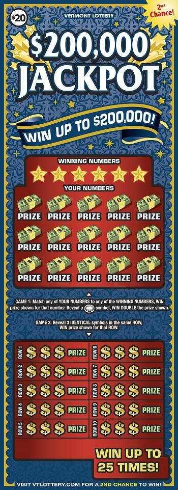 $200,000 Jackpot