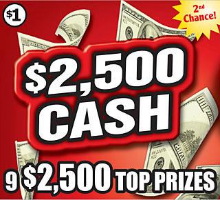 $2,500 CASH