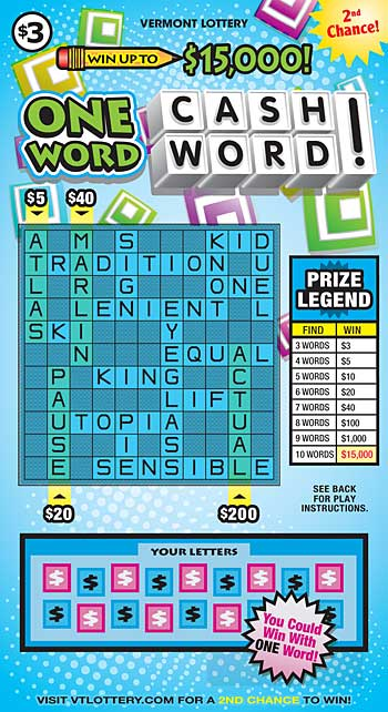 One Word Cashword