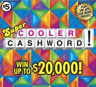 Super Cooler Cashword!