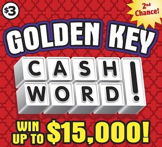 Golden Key Cashword!