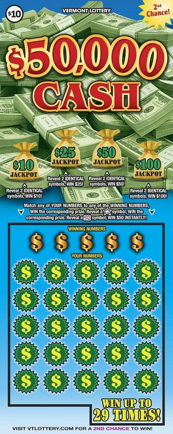 $50,000 Cash