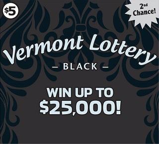Vermont Lottery Black