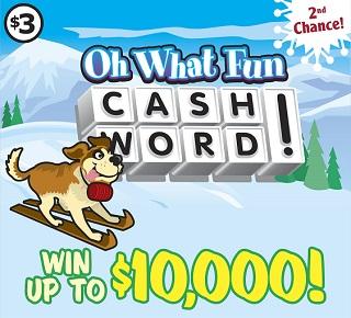 Oh What Fun Cashword!