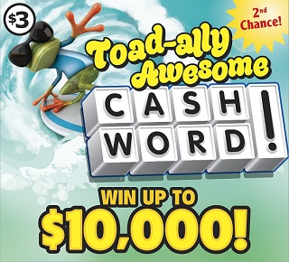 Toad-ally Awesome Cashword