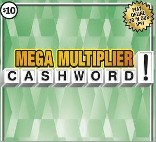 Mega Multiplier Cash Word