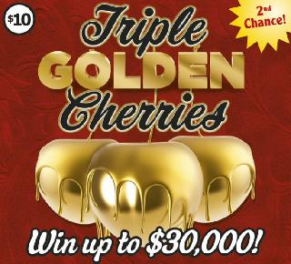triple golden cherries