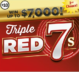 triple red 7