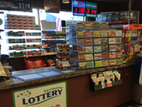 Lottery focused checkout