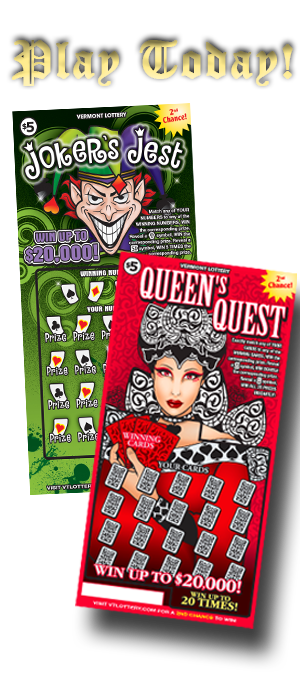 Joker's Jest and Queen's Quest Instant Tickets